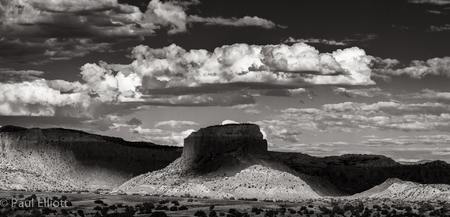 Abiquiu Shadow