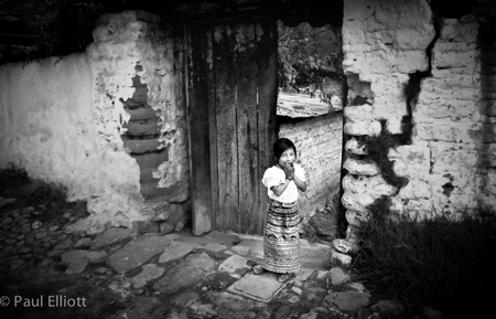 Guatemalan Village Girl